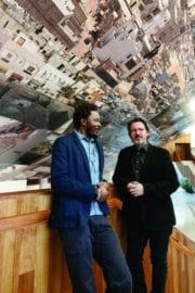 Congolese artist and photographer Sammy Baloji created an installation in the lobby of Teatro Julio Castillo. Alongisde his mentor, Olafur Eliasson