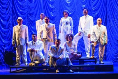 The cast from Remembering the Lux. Pic by Andrew Brow