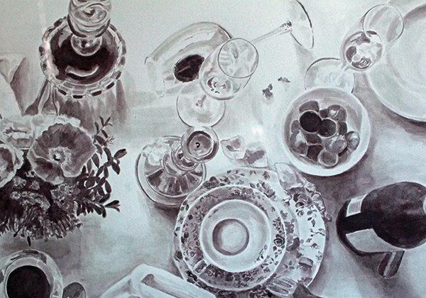 Maroli van der Merwe, Table, TOKARA Wine Made Art 2015