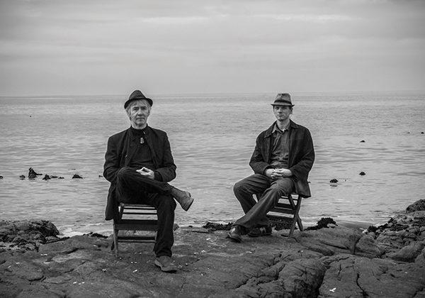 Dave Ledbetter and Ronan Skillen of Deep South. Photograph by Maya Morgan-Skillen