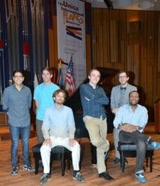 Jazz category semi-finalists includes: Gil Scott Chapman (USA), Joshua Espinoza (USA), Addison Frei (USA), Lex Korten (USA), Paul Shinn (USA) and Sebastiaan van Bavel (The Netherlands).