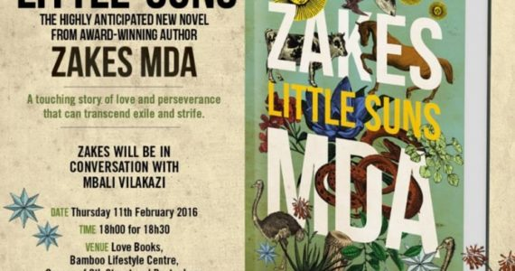 Zakes Mda 2016 Book Launch featured on Creative Feel