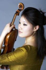Violinist Rachel Lee Priday in Unisa Concert
