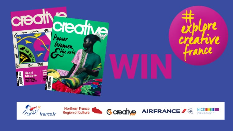 WIN with #explorecreativefrance