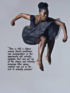 2017 Standard Bank Young Artist Award for Dance, Thandazile Radebe.