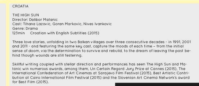 Film Festival Croatia
