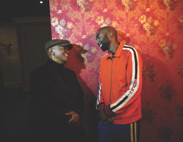 Hugh Masekela and Riky Rick