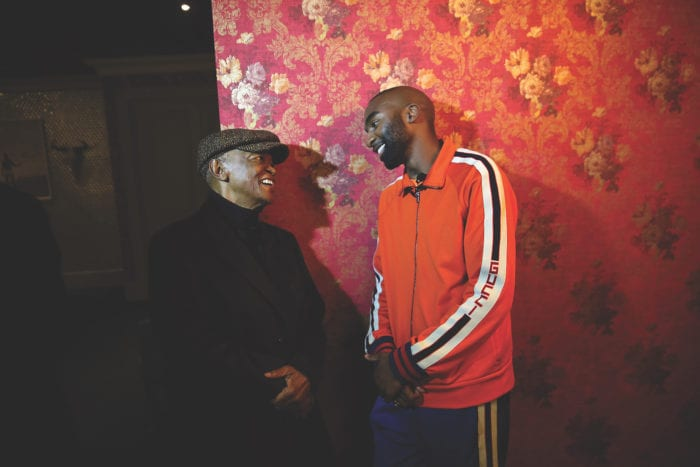 Hugh Masekela and Riky Rick