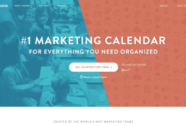 CoSchedule review marketing calendar digital strategy