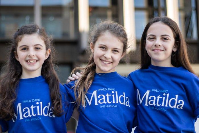 Matilda The Musical cast
