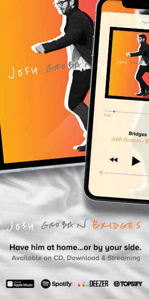 Warner Music Josh Groban – Bridges 300×600