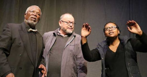 CONGO The Trial of King Leopold II, Market Theatre, John Kani, Robert Whitehead, Lesedi Job