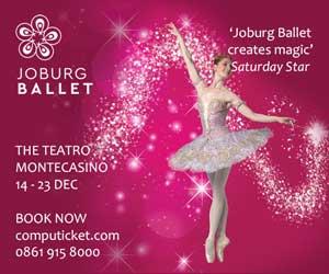 Joburg Ballet Cinderella 2018 300×250