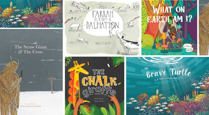 Illustrated books for young creatives