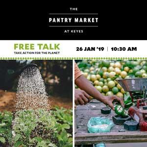Keyes Art Mile pantry food event Saturday