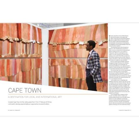 Creative Feel February 2019 magazine art culture South Africa