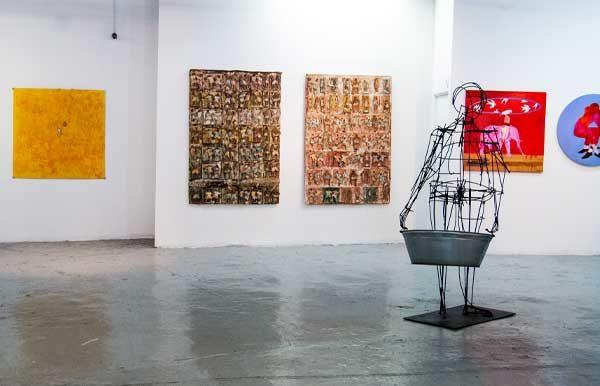 Bag Factory Artist Studio exhibition Candice Allison