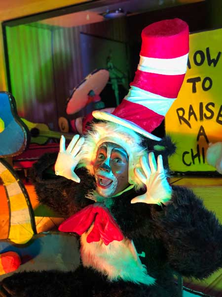 Seussical The Musical Jr Joburg Theatre children people kids Dr Seuss book