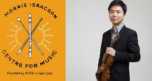 Morris Isaacson Centre for Music Jiafeng Chen violin