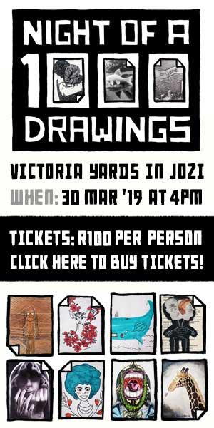 Night of 1000 Drawings 2019 300×600