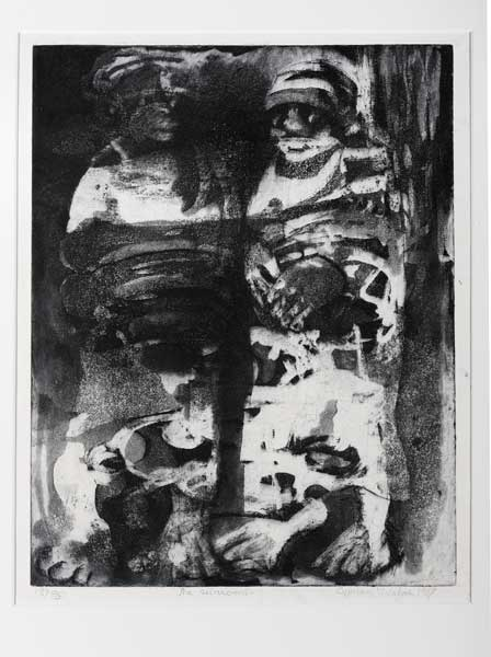 Standard Bank Gallery Black Aesthetic Cyprian Mpho Shilakoe
