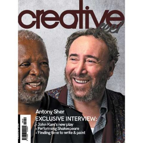 Creative Feel April 2019 antony sher john kani