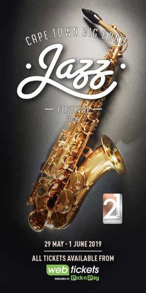 Cape Town Big Band Jazz Festival 2019 300×600