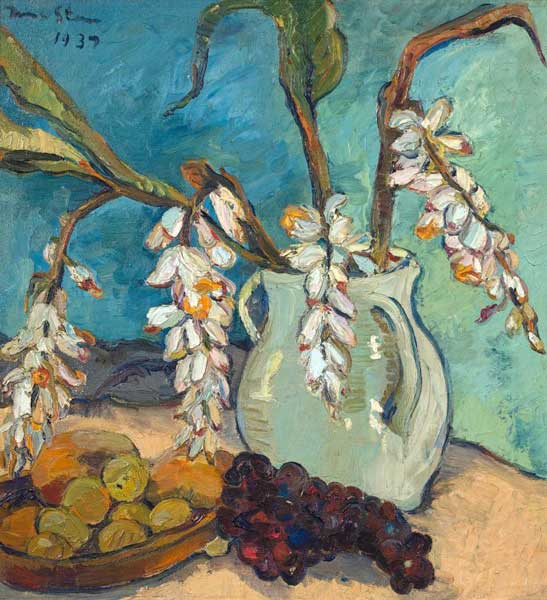 Strauss & Co art auction world record Irma Stern Still Life with Ginger Plant