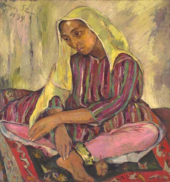 Strauss & Co art auction world record Irma Stern Meditation Zanzibar