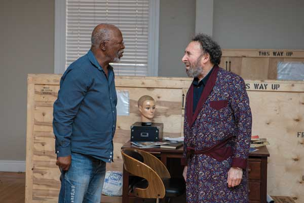 Antony Sher Kunene and the King theatre Fugard John Kani