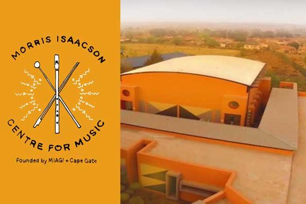 Morris Isaacson Centre for Music new logo brand