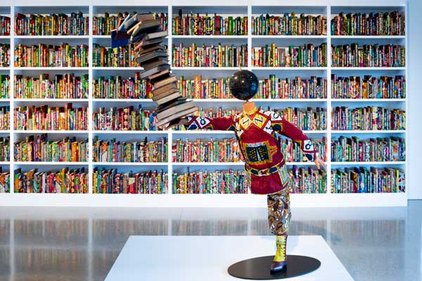 Yinka Shonibare Norval Foundation art gallery