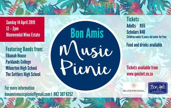 Bon Amis Music Picnic youth celebration
