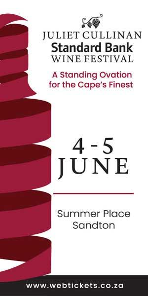 29th Juliet Cullinan Standard Bank Wine Festival 300 x 600