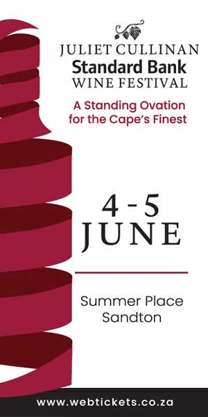 29th Juliet Cullinan Standard Bank Wine Festival 300 x 600