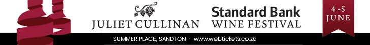 29th Juliet Cullinan Standard Bank Wine Festival leaderboard