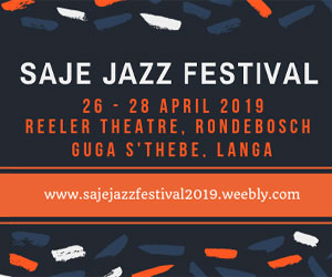 SAJE Jazz Festival April 2019 300×250