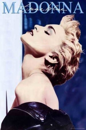 Madonna Business Arts pop icon poster magazine Creative Feel