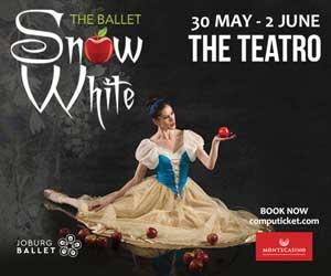 Joburg Ballet Snow White 300 x 250