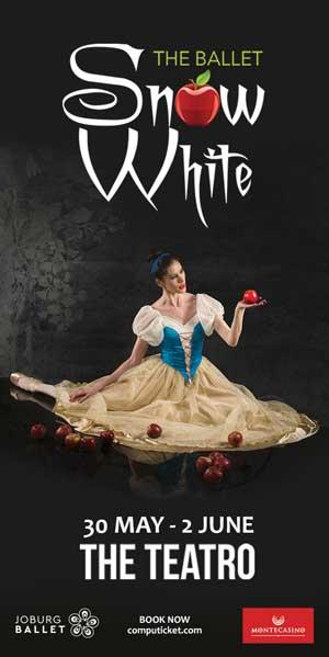 Joburg Ballet Snow White 300 x 600