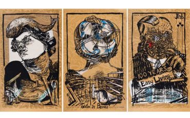 Strauss Co art auction results William Kentridge