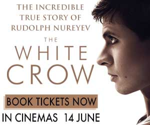 The White Crow Book Now Cinema Nouveau 300 x 250