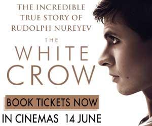 The White Crow Book Now Cinema Nouveau 300 x 250