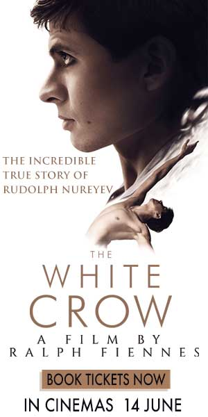 The White Crow Book Now Cinema Nouveau 300 x 600
