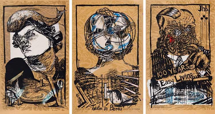 Strauss Co art auction results William Kentridge