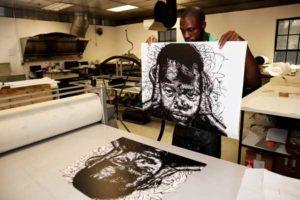 RMB Turbine Art Fair TAF Artist Proof Studio printmaking