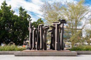 RMB Edoardo Villa Confrontation sculpture Rand Merchant Bank