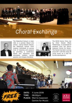 MICM Morris Isaacson Centre Music UTAH USA Choir South Africa
