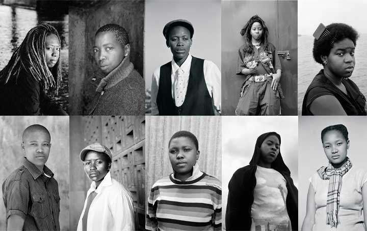 anele Muholi Faces and Phases photography South African black white photograph