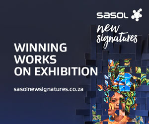 Sasol New Signatures 2019 art competition leaderboard 300×250